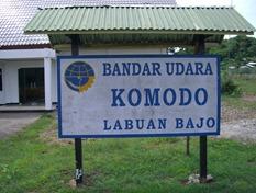 Miniflughafen Labua Bajo, Komodo