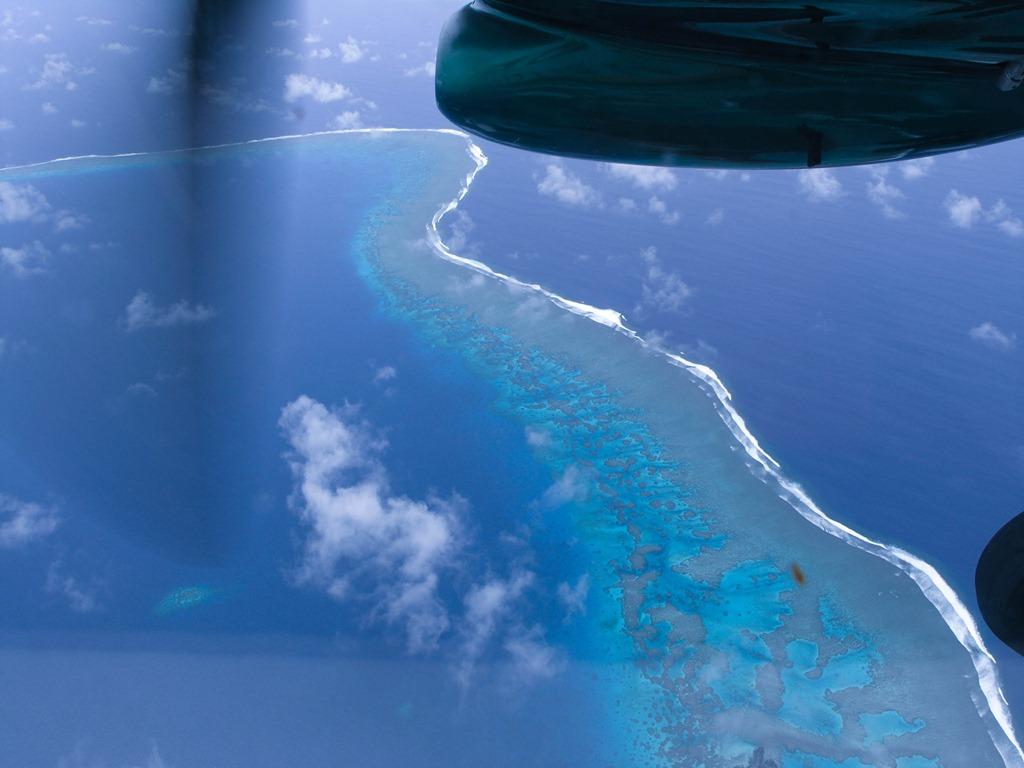 Flug nach Taveuni, Fiji