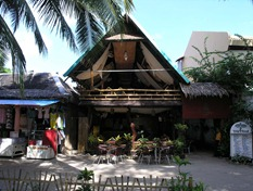Boracay White Beach, True Food, tolles Indisches Restaurant 2004