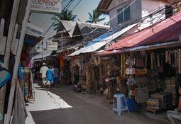 Der Markt, Talipapa, mittlerweilse leider abgebrannt, Boracay 2001