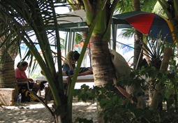 """Mein"" genialer Masseur, White Beach, Boracay 2001"