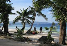 White Beach, Boracay 2001